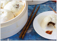HomeMade Zagat's Pow - Steamed Meat Buns Recipe Card