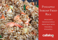 What's In De Pot Pineapple Shrimp Fried Rice Recipe Card