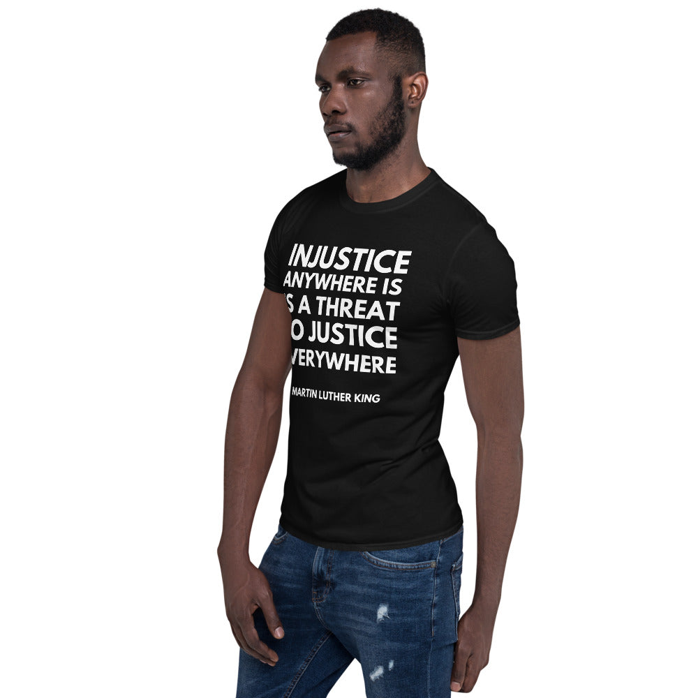 Injustice Anywhere Short-Sleeve Unisex T-Shirt