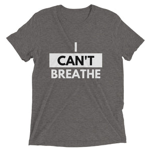 I Can't Breathe Short sleeve t-shirt