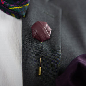 Roosevelt | Lealther | Lapel Pin