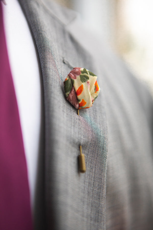 Rose Garden | Floral | Knot Pin