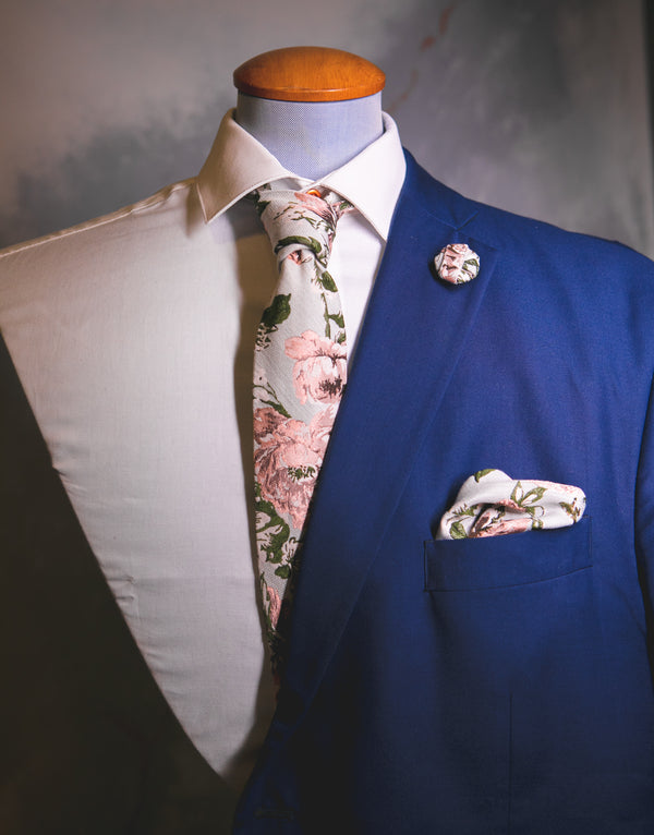Derby Floral | Jacquard | Pocket Square