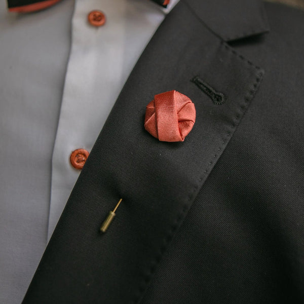 Chicago Copper | Satin | Lapel Pin