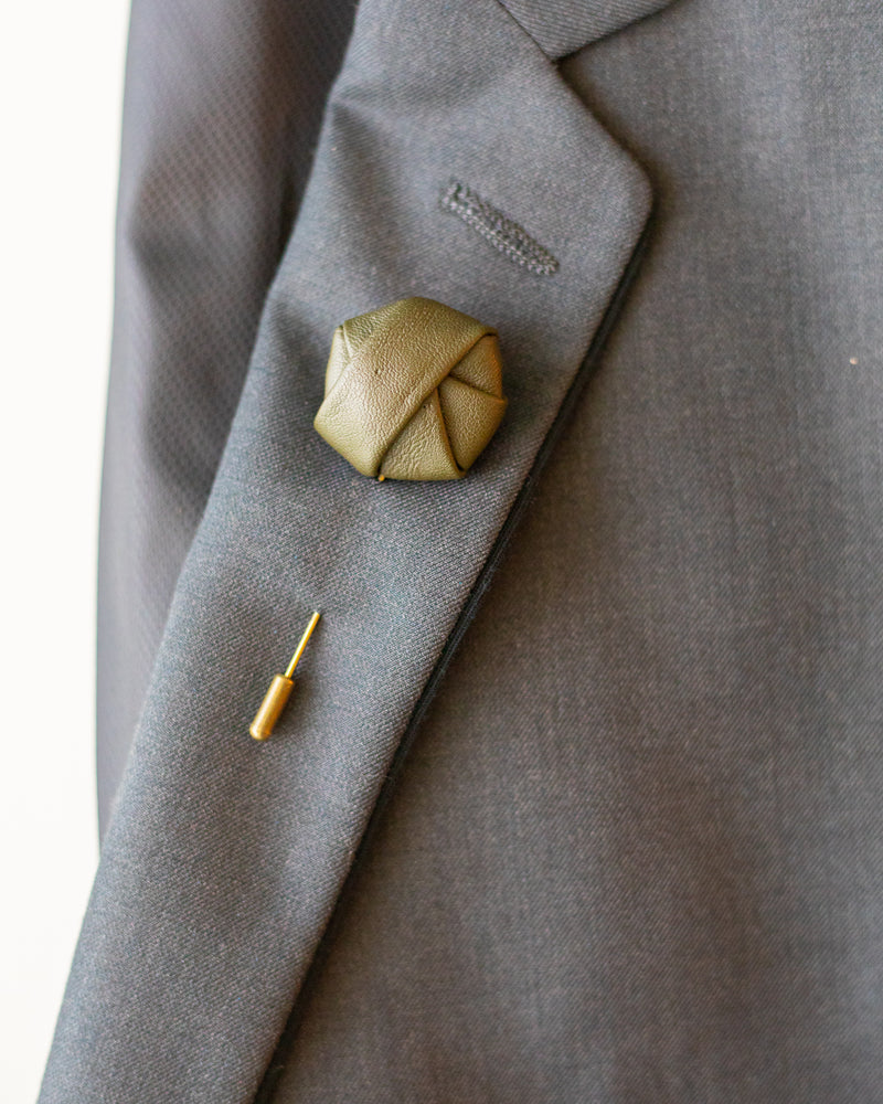 The Alderman | Leather | Lapel Pin