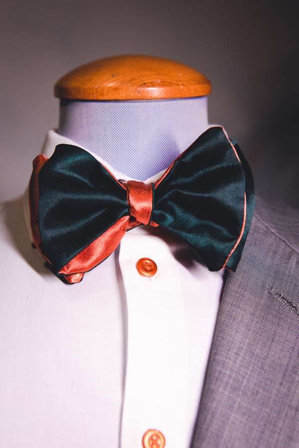 Mahone | Satin | Bowtie