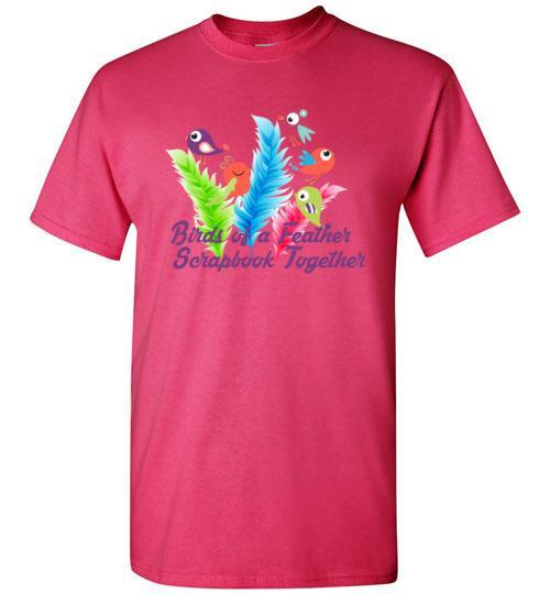Birds Of A Feather Scrapbook Regular T-Shirt