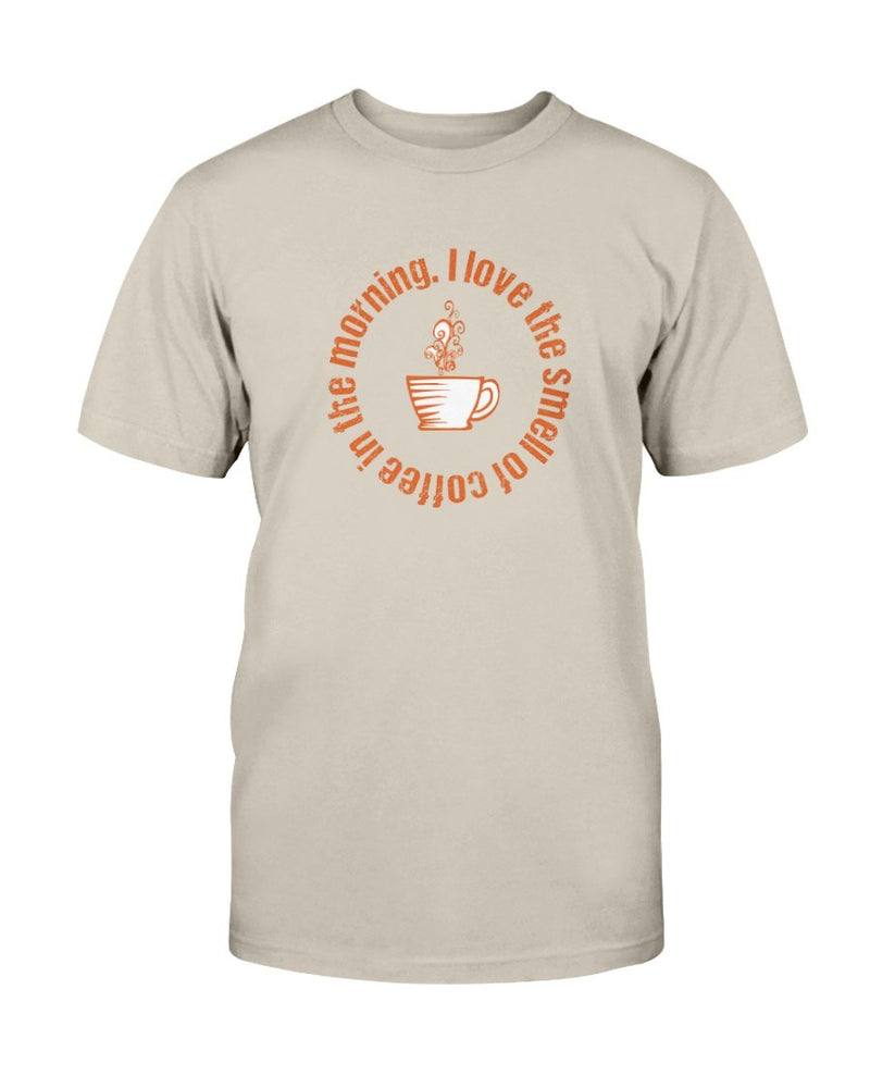 Smell of Coffee Tee - Two Chicks Designs