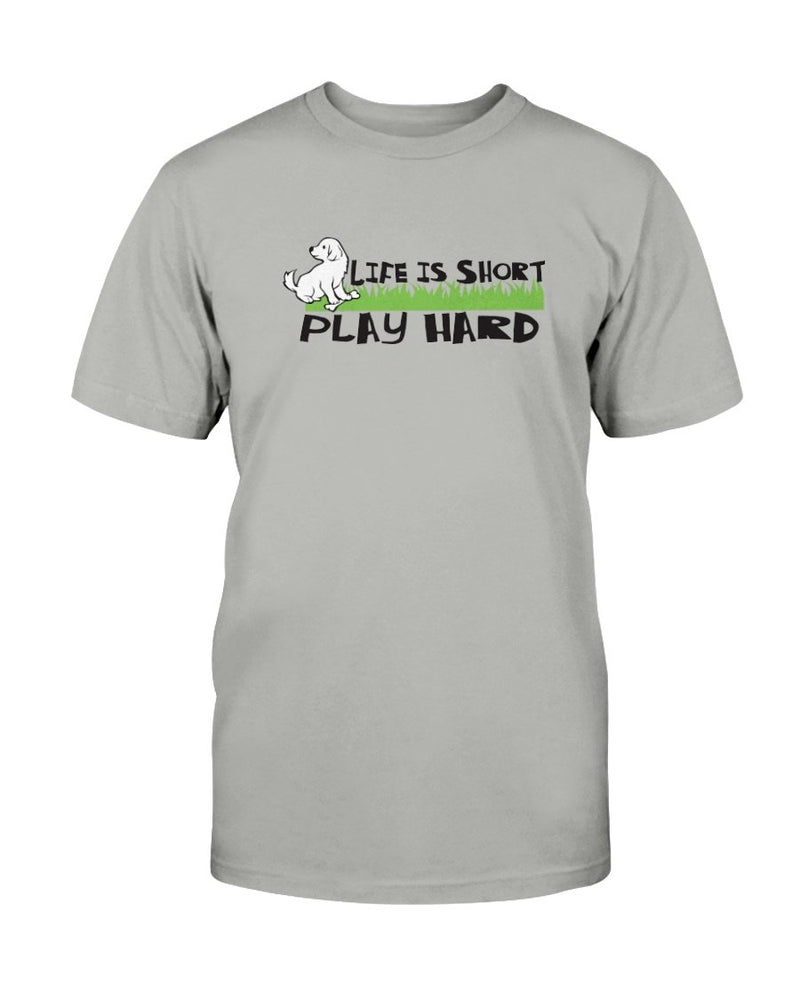 Life Short Dog T-Shirt - Two Chicks Designs