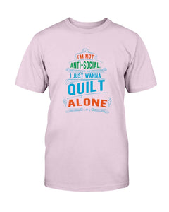 Anti Social Quilting T-Shirt