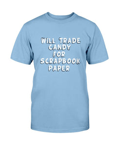 Trade Candy Scrapbook Tee