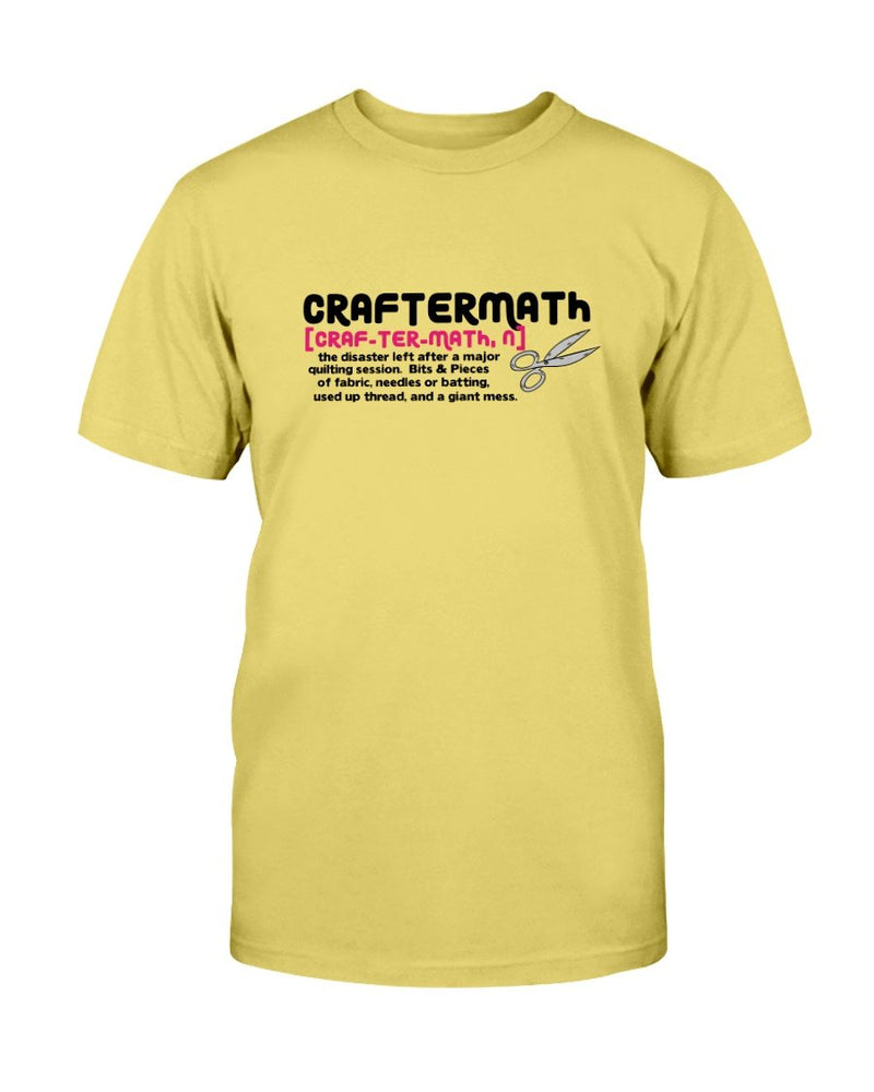 Craftermath Quilting T-Shirt - Two Chicks Designs