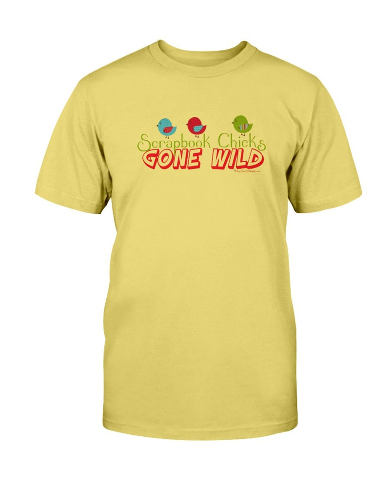 Gone Wild Scrapbook T-Shirt - Two Chicks Designs
