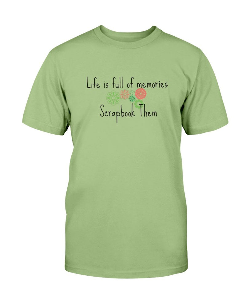 Life Memories Scrapbook T-Shirt - Two Chicks Designs
