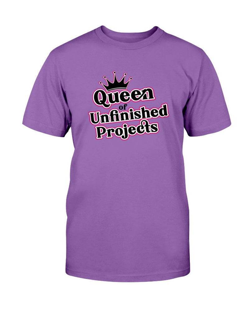 Queen of Unfinished Projects Tee - Two Chicks Designs