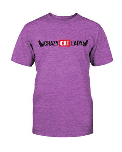 Crazy Cat Lady T-Shirt - Two Chicks Designs