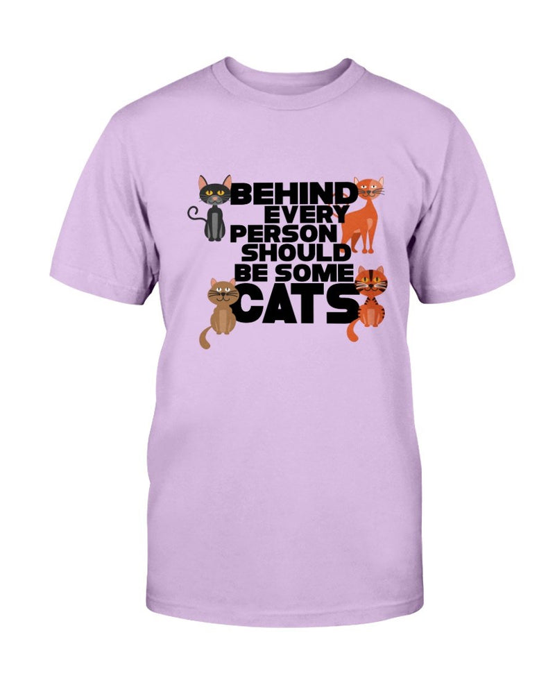 Behind Cat T-Shirt - Two Chicks Designs