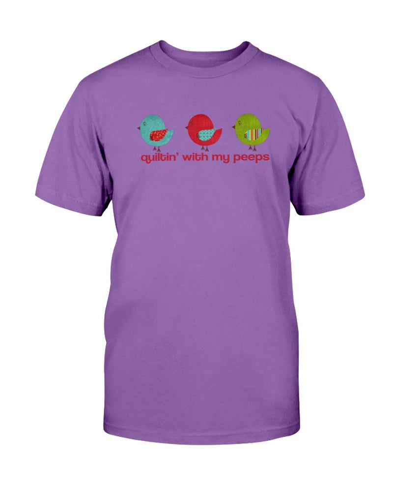 Peeps Quilting T-Shirt - Two Chicks Designs