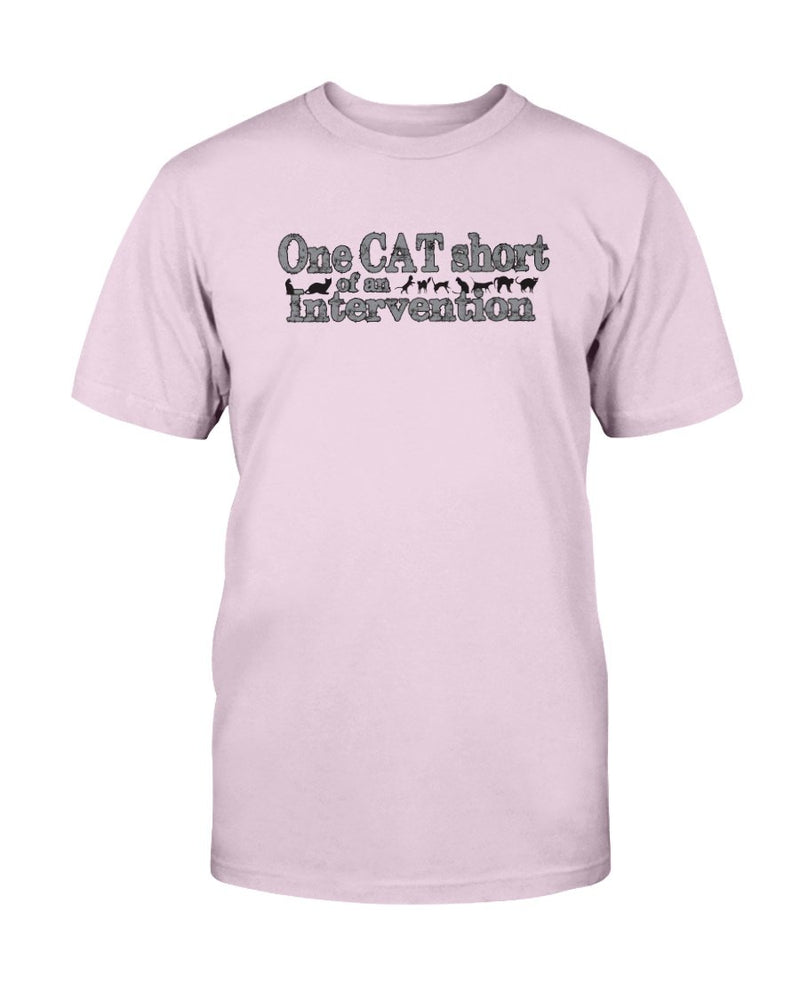 One Cat Short T-Shirt - Two Chicks Designs