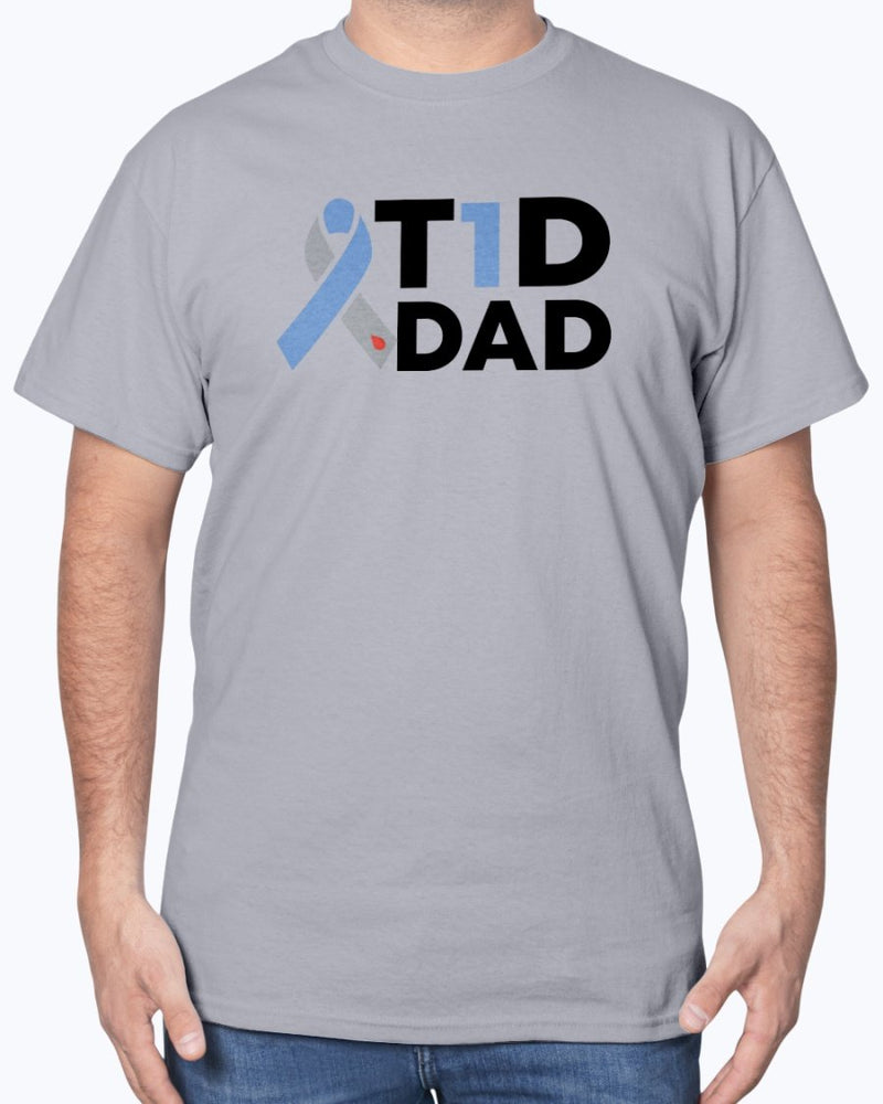 T1D Dad Tee - Two Chicks Designs