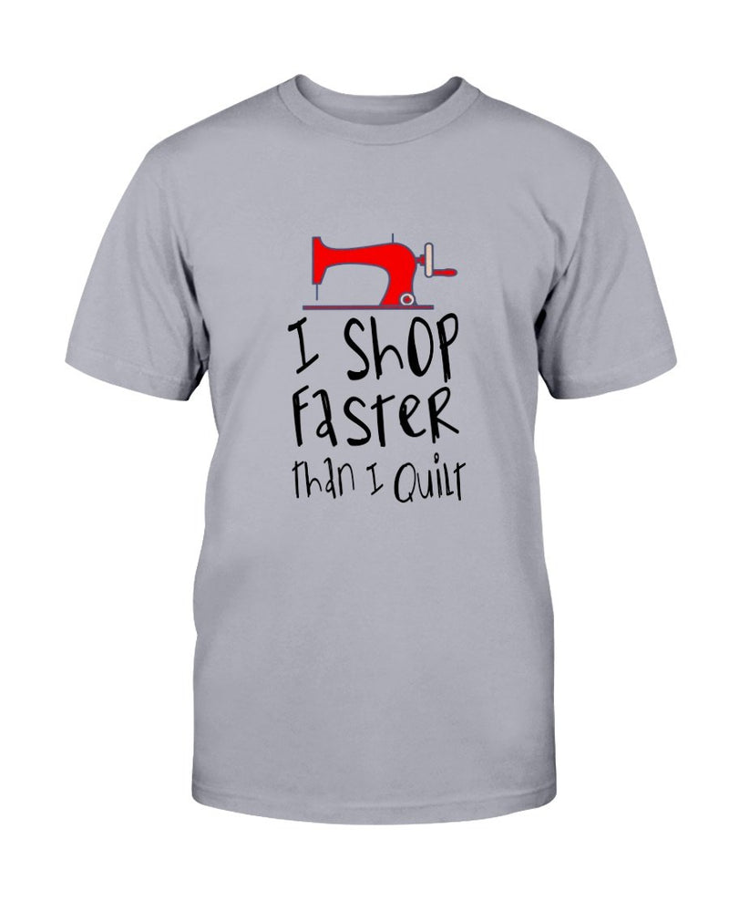 Shop Faster Quilting T-Shirt - Two Chicks Designs