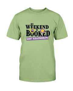 Weekend Booked Scrapbook T-Shirt