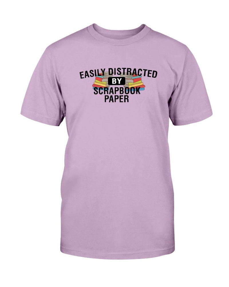 Easily Distracted Scrapbook T-Shirt - Two Chicks Designs