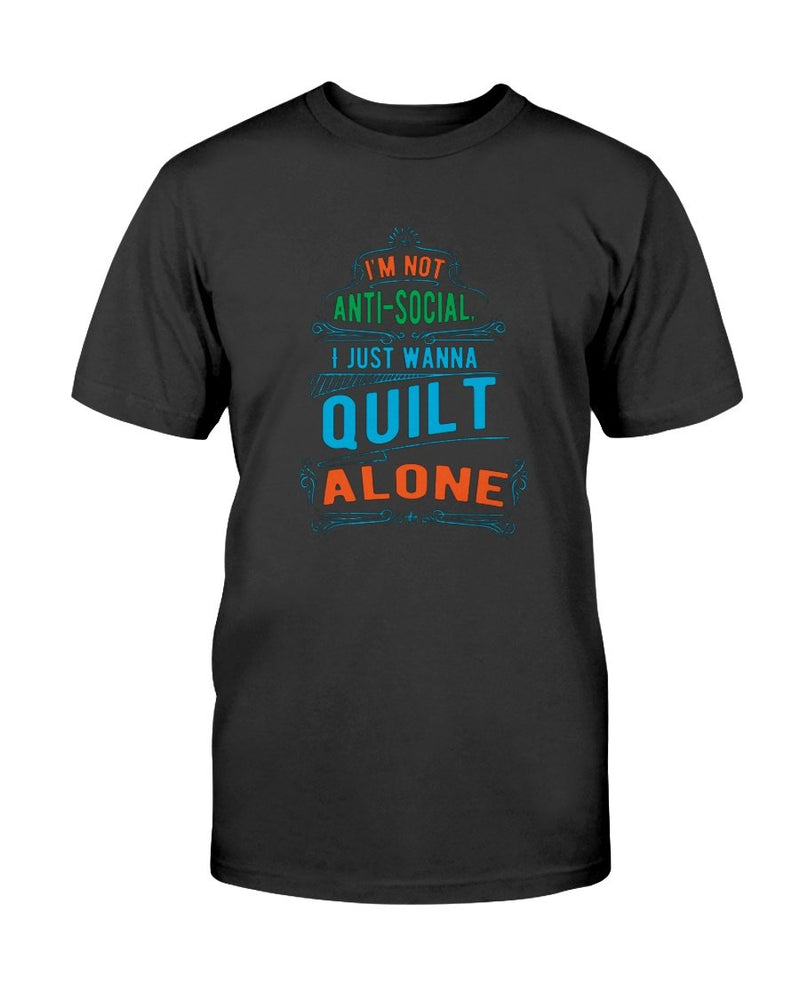 Anti Social Quilting T-Shirt - Two Chicks Designs