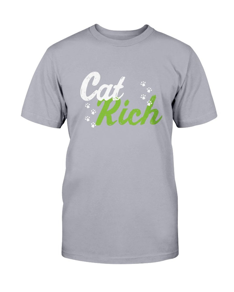Cat Rich T-Shirt - Two Chicks Designs