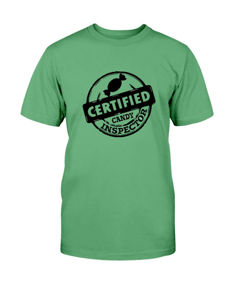 Certified Candy Inspector Tee - Two Chicks Designs
