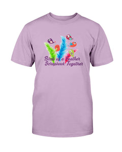 Birds of a Feather Scrapbook T-Shirt