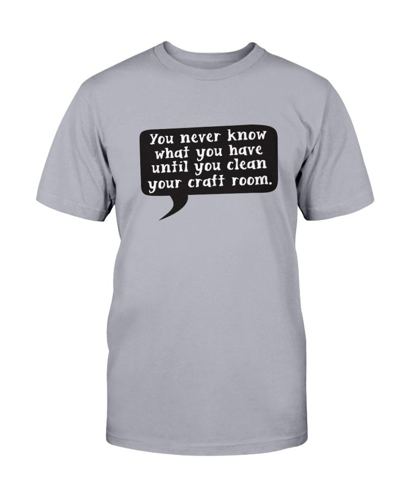 Clean Craft Room Scrapbook T-Shirt - Two Chicks Designs