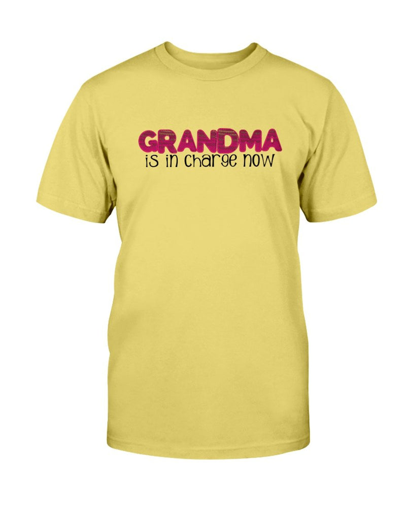 Grandma in Charge T-Shirt - Two Chicks Designs