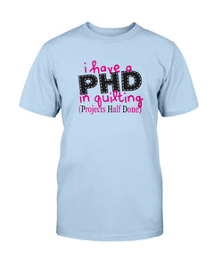PHD Quilting T-Shirt