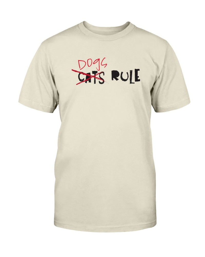 dogs Rule T-Shirt - Two Chicks Designs