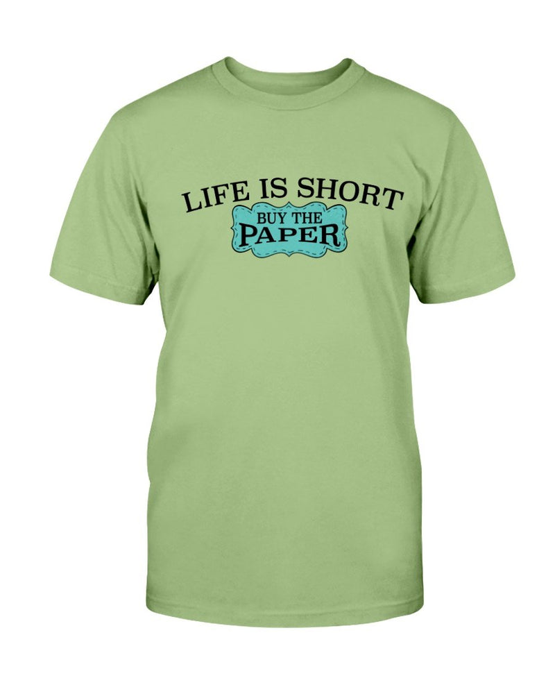 Life is Short Scrapbook T-Shirt - Two Chicks Designs