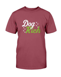 Dog Rich T-Shirt - Two Chicks Designs