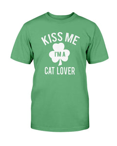 Kiss Me Cat Lover Tee