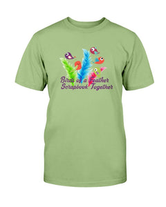 Birds of a Feather Scrapbook T-Shirt - Two Chicks Designs