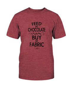 Feed Me Chocolate Quilting T-Shirt