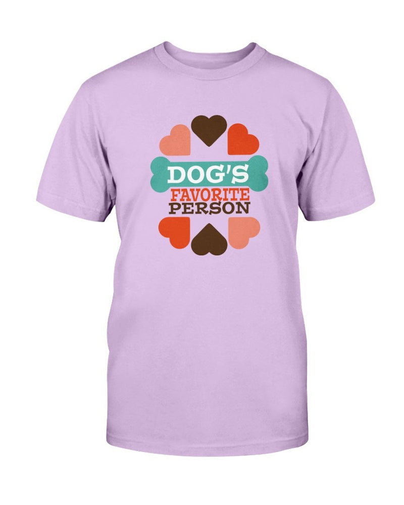 Dog's Favorite Person T-Shirt - Two Chicks Designs
