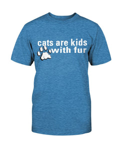 Cat Kids with Fur Tee