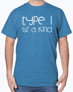 Type 1 of a Kind Diabetes Awareness T-Shirt