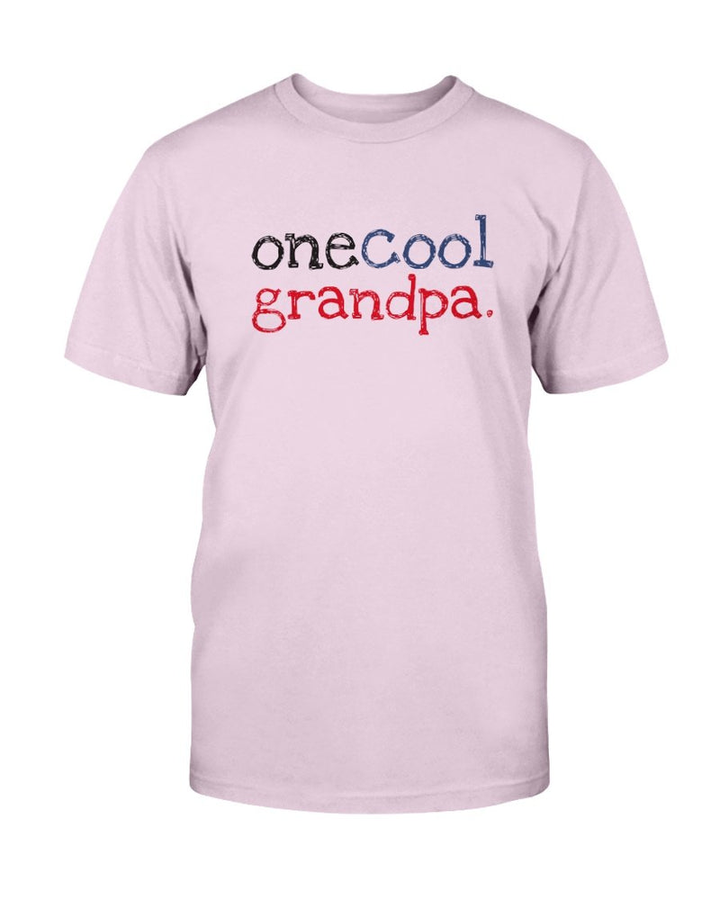 One Cool Grandpa T-Shirt - Two Chicks Designs