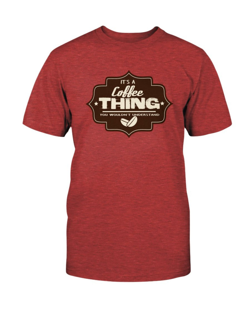 Coffee Thing Tee - Two Chicks Designs