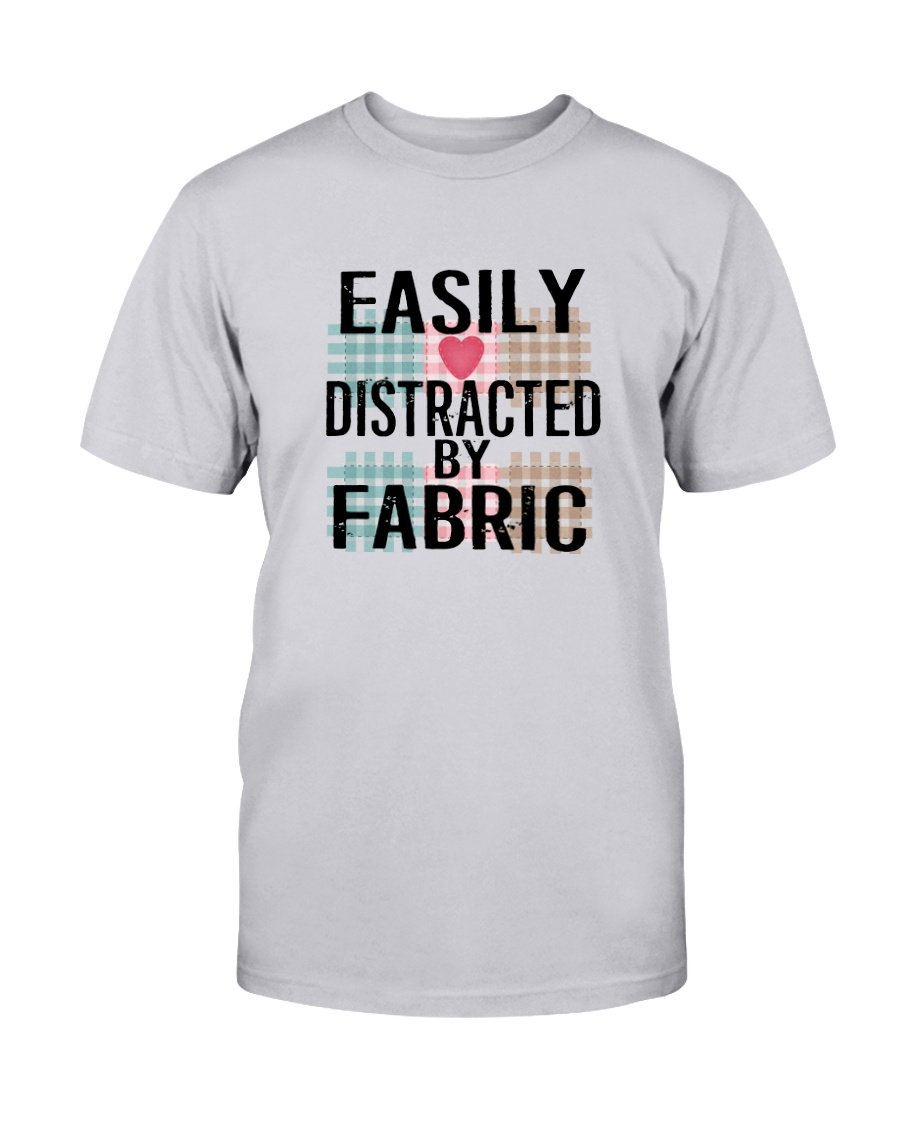 Easily Distracted Quilting T-Shirt