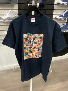 Supreme Pills Tee Navy