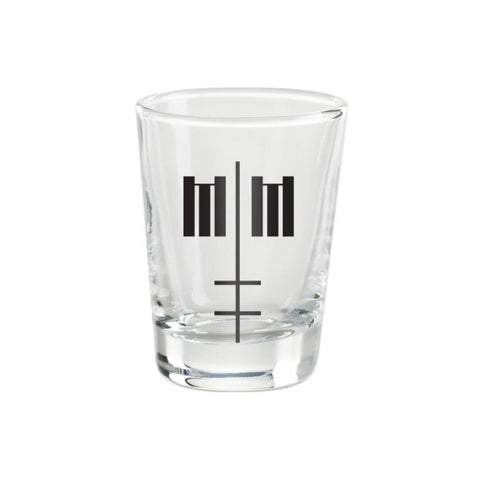 Double Cross Shot Glass
