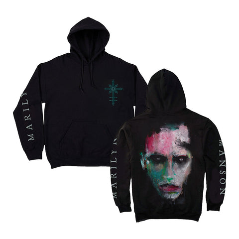 WE ARE CHAOS Portrait Black Hoodie