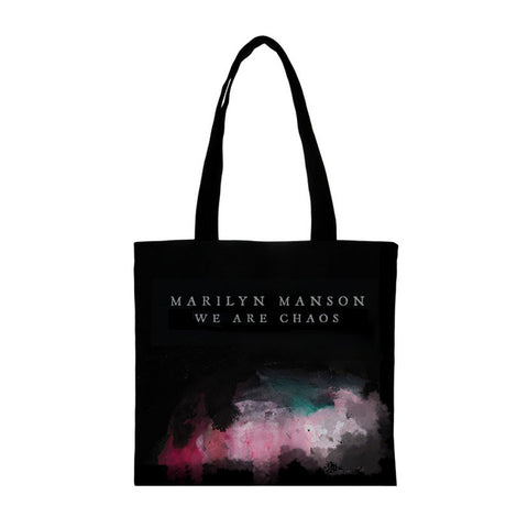 WE ARE CHAOS Black Tote Bag